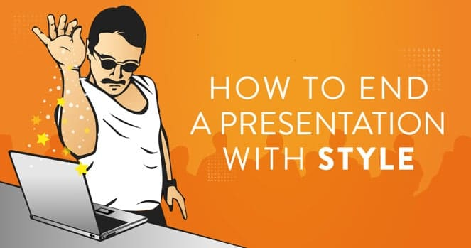 How to end a presentation with style - saltbae